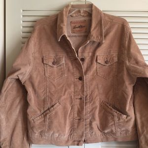 Vintage Levi's Trucker Corduroy Jacket Woman's XL